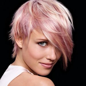 short-straight-hair-blonde-pink-hairstyle1